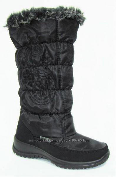 Сапоги женские флоаре обувь зимняя Мишель снежинка - 200грн (цена